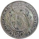 20 Kreuzer - Heinrich VIII – revers