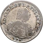 20 kreuzer Adalbert II de Walderdorff – avers