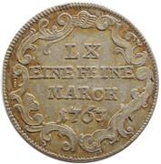 20 kreuzer Heinrich VIII of Bibra – revers