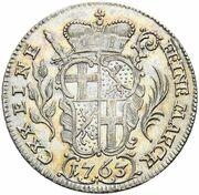 10 kreuzer Heinrich VIII de Bibra – revers