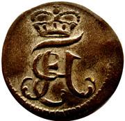 2 pfenning Heinrich VIII of Bibra – avers