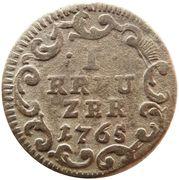 1 Kreuzer - Heinrich VIII of Bibra – revers