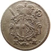 1 Kreuzer - Heinrich VIII of Bibra – avers