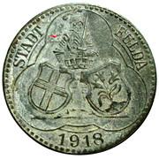 50 pfennig - Fulda – avers
