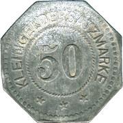 50 pfennig - Fulda – revers
