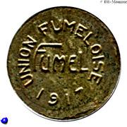 5 centimes - Union Fumeloise - Fumel [47] – avers