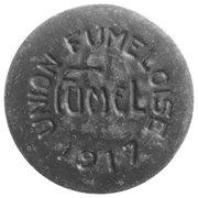10 centimes - Union Fumeloise - Fumel [47] – avers