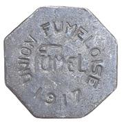 25 centimes - Union Fumeloise - Fumel [47] – avers