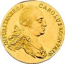 1 Ducat - Karl Egon I. (Celtic-gold ducat) – avers