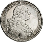 1 thaler Joseph Wilhelm Ernst – avers
