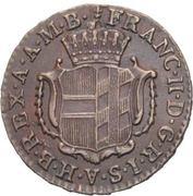 ¼ kreutzer Franz II – avers