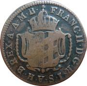 1 kreutzer Franz II – avers