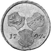 3 kreutzer Franz II – avers