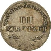 3 kreutzer Joseph II & Leopold II – revers