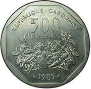 500 Francs (essai) – revers