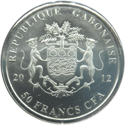 50 francs CFA Nelson Mandela – avers