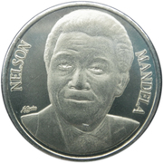 50 francs CFA Nelson Mandela – revers