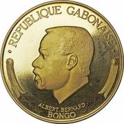 5000 francs (Bongo) – avers