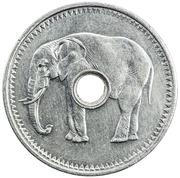 """Jeton """"Éléphant"""" – avers"""