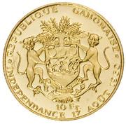 10 Francs (Indépendance) – revers