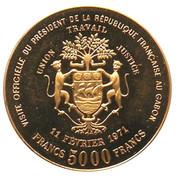 5000 francs (Georges  Pompidou, essai) – avers