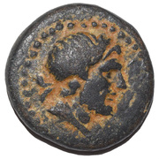 Bronze Æ16 - Amyntas – avers