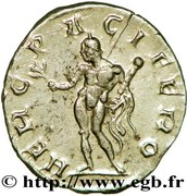 Antoninien - Postume (HERC PACIFERO) – revers