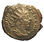 Antoninien - Postume (PM TRP III COS III PP avec Mars) – avers