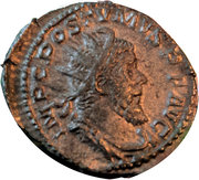 Antoninianus - Postumus P M TR P CO-S II PP – avers