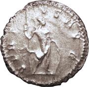 Antoninien - Postume (VIRTVS AVG avec Mars, Lyon) – revers