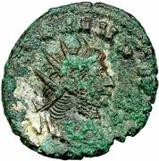 Antoninien - Gallien (PAX PVBLICA) – avers