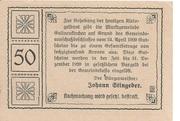 50 Heller (Gallneukirchen) – revers