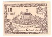 10 Heller (Gallneukirchen) – avers