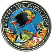 10 bututs (protection de la vie marine) – revers
