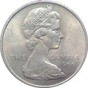 2 shillings - Elizabeth II (2eme effigie) – avers