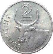 2 shillings - Elizabeth II (2eme effigie) – revers