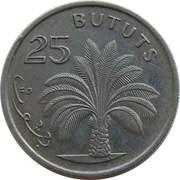 25 bututs – revers