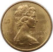 3 pence - Elizabeth II (2eme effigie) – avers