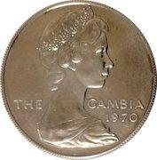 8 Shillings - Elizabeth II (Silver Edition) – avers