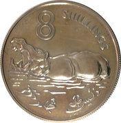 8 Shillings - Elizabeth II (Silver Edition) – revers