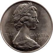 8 shillings - Elizabeth II (2eme effigie) – avers