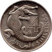 4 shillings - Elizabeth II (2ème effigie) – revers