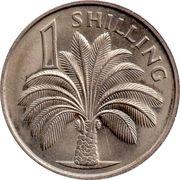 1 shilling - Elizabeth II (2eme effigie) – revers