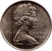 4 shillings - Elizabeth II (2ème effigie) – avers