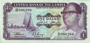 1 Dalasi - Opening of the Central Bank of The Gambia's Building. – avers