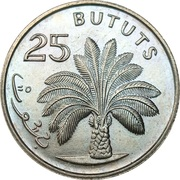 25 bututs -  revers