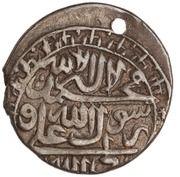1 Abbasi (Type B; in the name of Karim Khan Zand, 1751-1779; Ganja) – avers