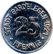 25 pfennig - Gardelegen – avers