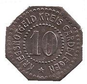 10 pfennig - Gardelegen – revers
