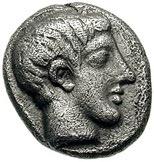 Tritartemorion (Gargara) – avers